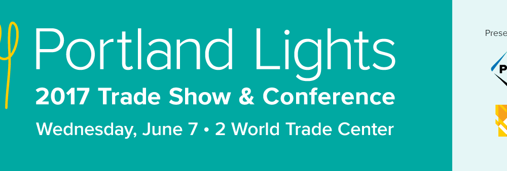 Portland Lights Trade Show and Conference banner